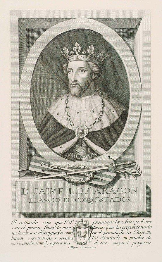 Gravat de Jaume I.