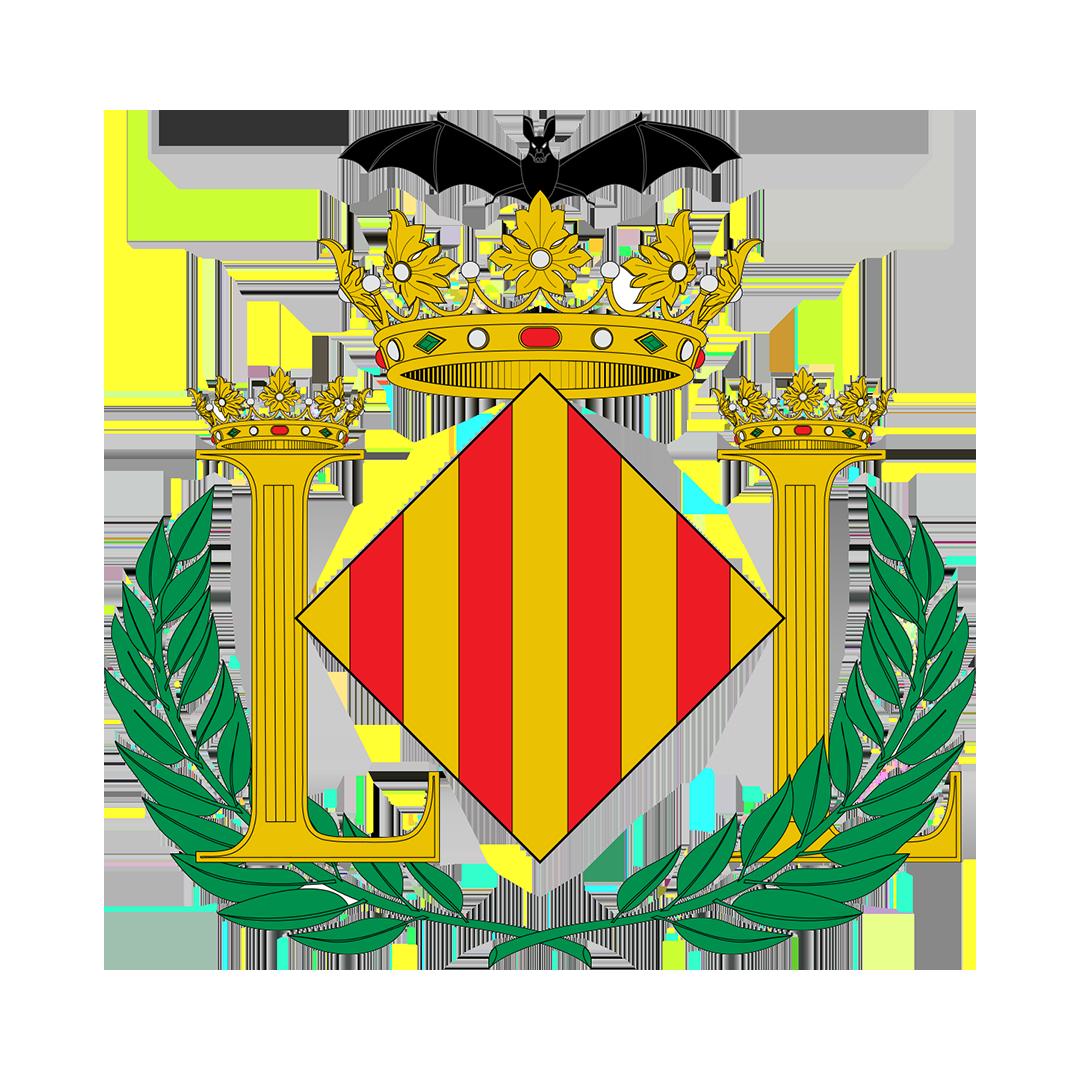Escut de la Ciutat de València.