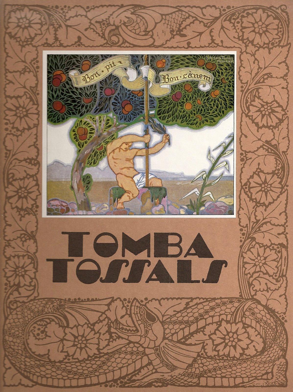 Portada del llibre Tombatossals, contalles de la terra,